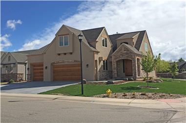 4-Bedroom, 2400 Sq Ft French Home - Plan #194-1002 - Main Exterior