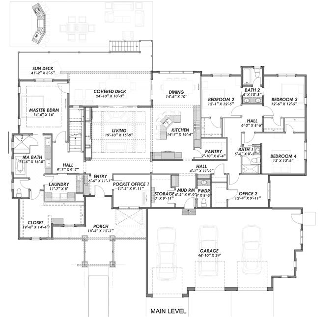 4 Bedrm 3968 Sq Ft Luxury House Plan 194 1007