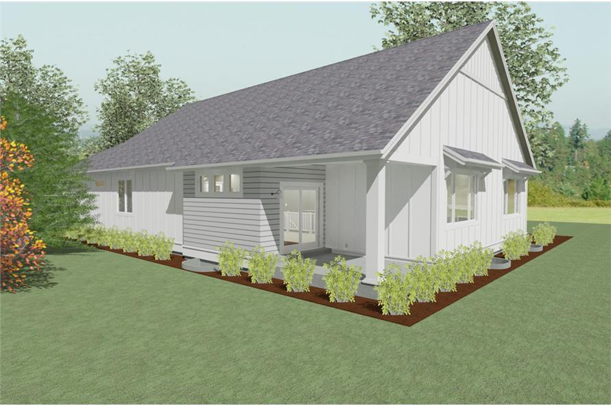 194-1009: Home Plan Rendering