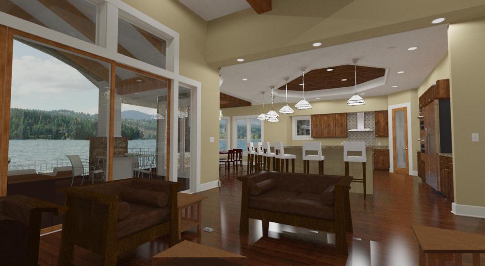 2 Bedrm 2605 Sq Ft Craftsman House Plan 194 1010