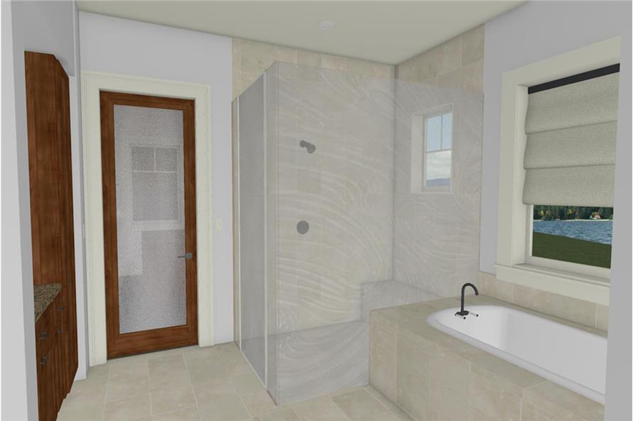 Master Bathroom of this 2-Bedroom,2605 Sq Ft Plan -2605