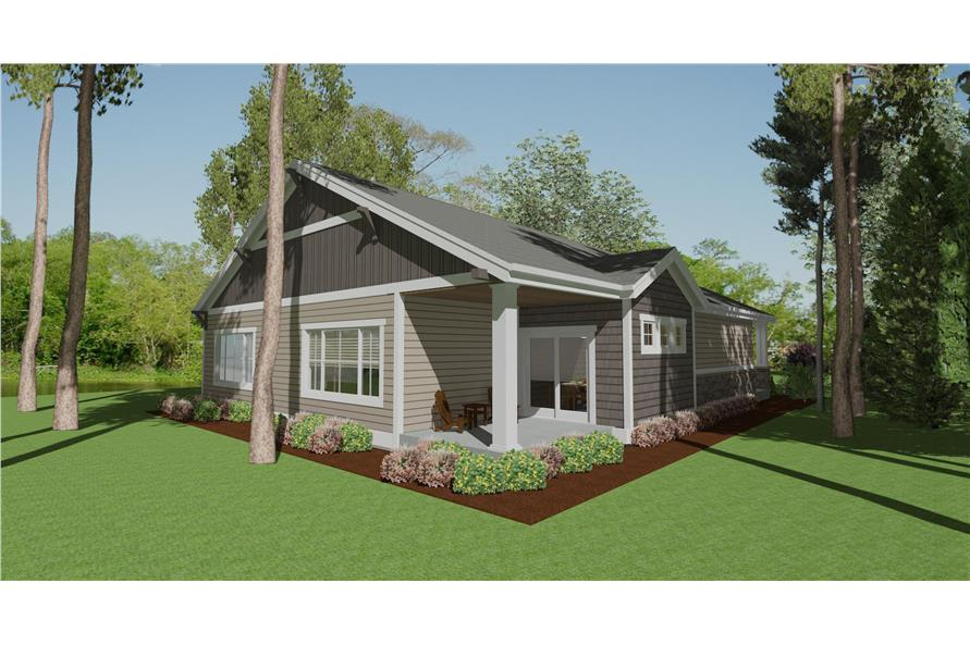 194-1011: Home Plan Rendering