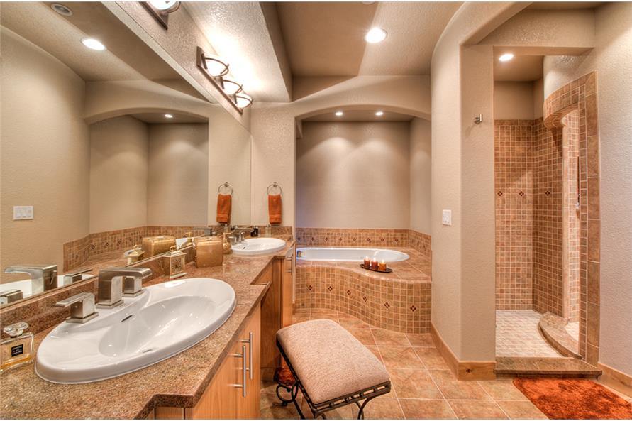 194-1012: Home Interior Photograph-Master Bathroom