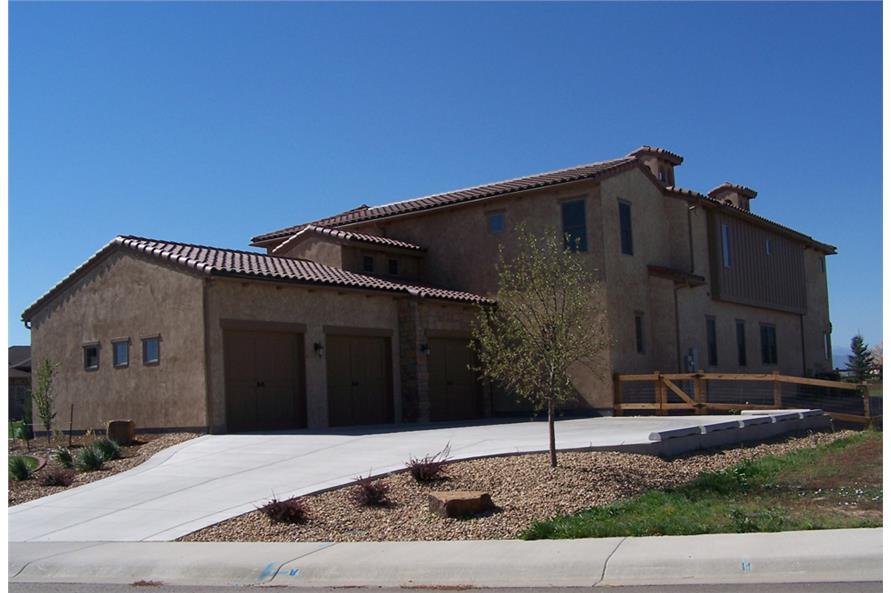 194-1012: Home Exterior Photograph-Rear View