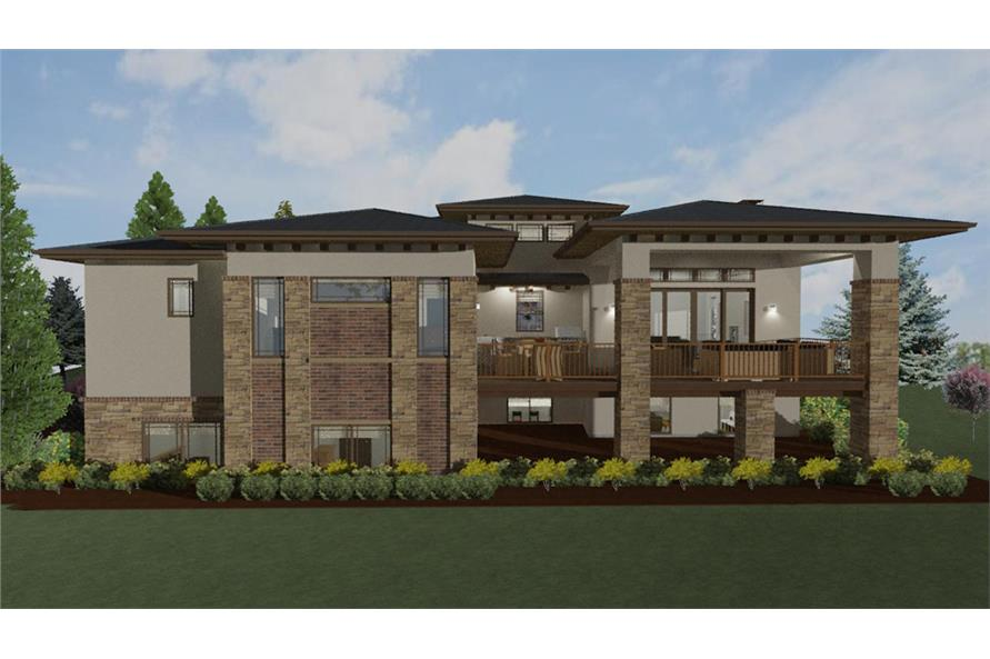 Home Plan Rendering of this 2-Bedroom,2560 Sq Ft Plan -2560