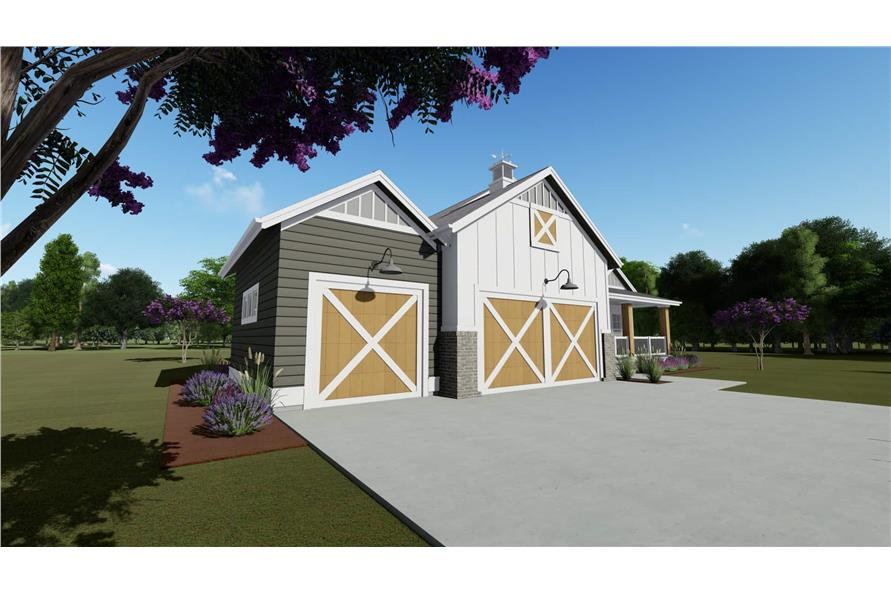Garage of this 2-Bedroom,1463 Sq Ft Plan -1463