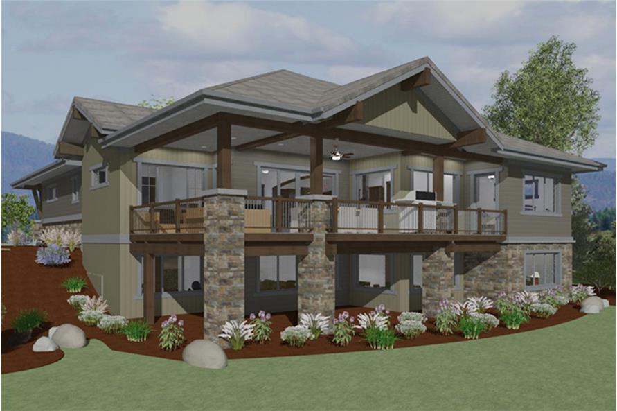 Home Plan Rendering of this 3-Bedroom,2459 Sq Ft Plan -2459
