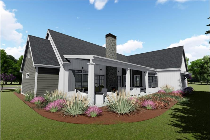 Home Plan 3D Image of this 3-Bedroom,2590 Sq Ft Plan -2590