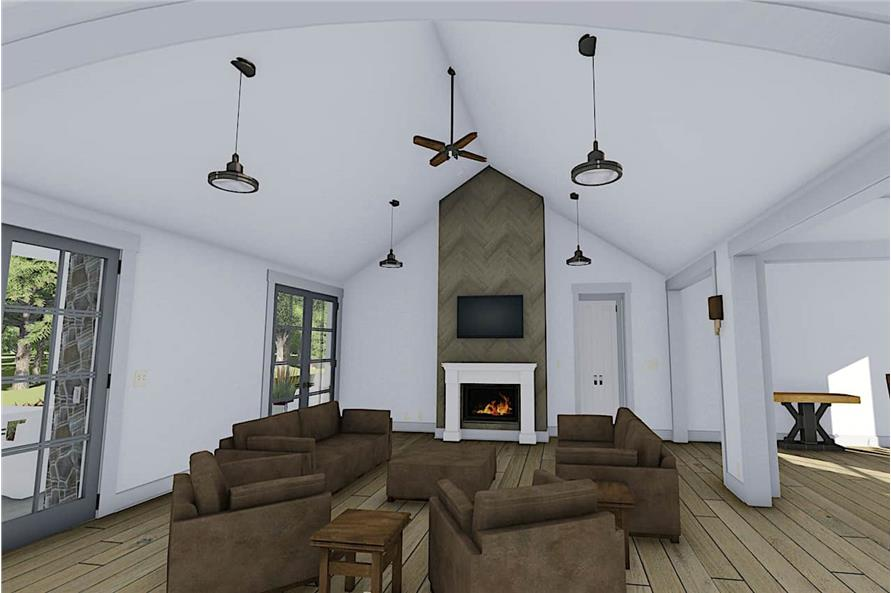 Great Room of this 3-Bedroom,2590 Sq Ft Plan -2590