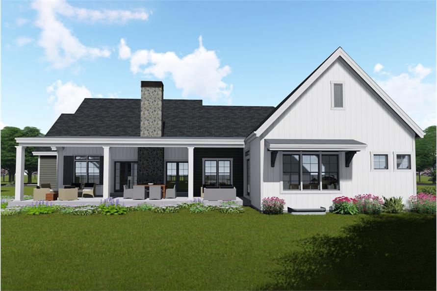 Home Plan Rendering of this 3-Bedroom,2590 Sq Ft Plan -2590