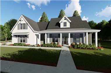 3-Bedroom, 2590 Sq Ft Farmhouse House - Plan #194-1021 - Front Exterior