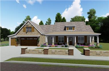 3-Bedroom, 2593 Sq Ft Farmhouse House - Plan #194-1024 - Front Exterior