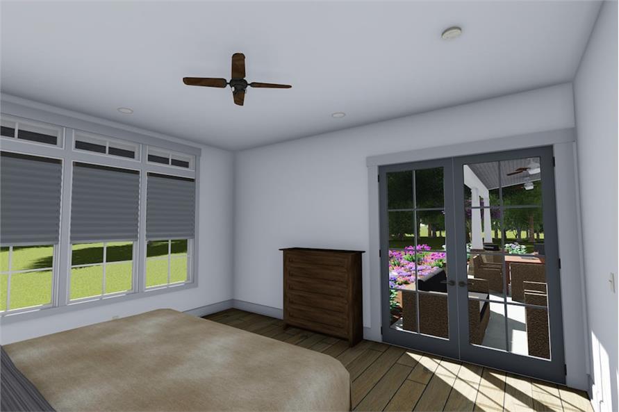 Bedroom of this 3-Bedroom,2593 Sq Ft Plan -2593