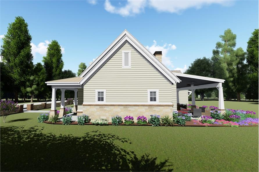Home Plan 3D Image of this 3-Bedroom,2593 Sq Ft Plan -2593