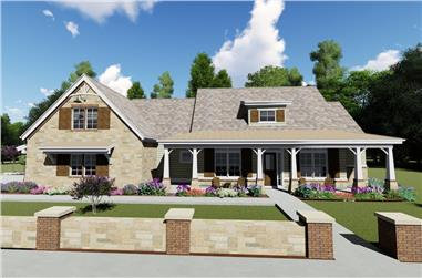 3-Bedroom, 2593 Sq Ft Craftsman Home - #194-1029 - Main Exterior