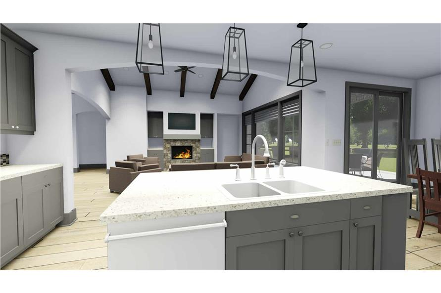 Kitchen of this 3-Bedroom,2551 Sq Ft Plan -2551