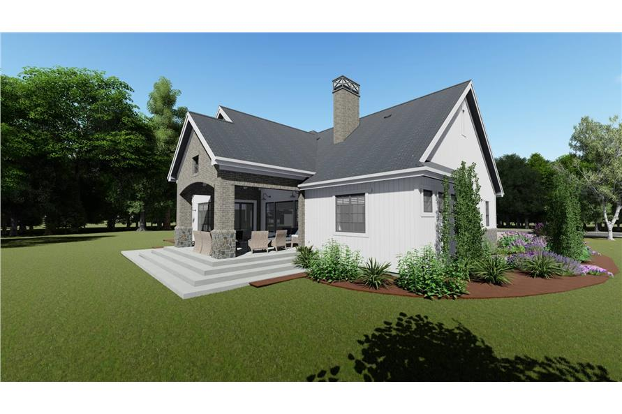 Side View of this 3-Bedroom,2551 Sq Ft Plan -2551