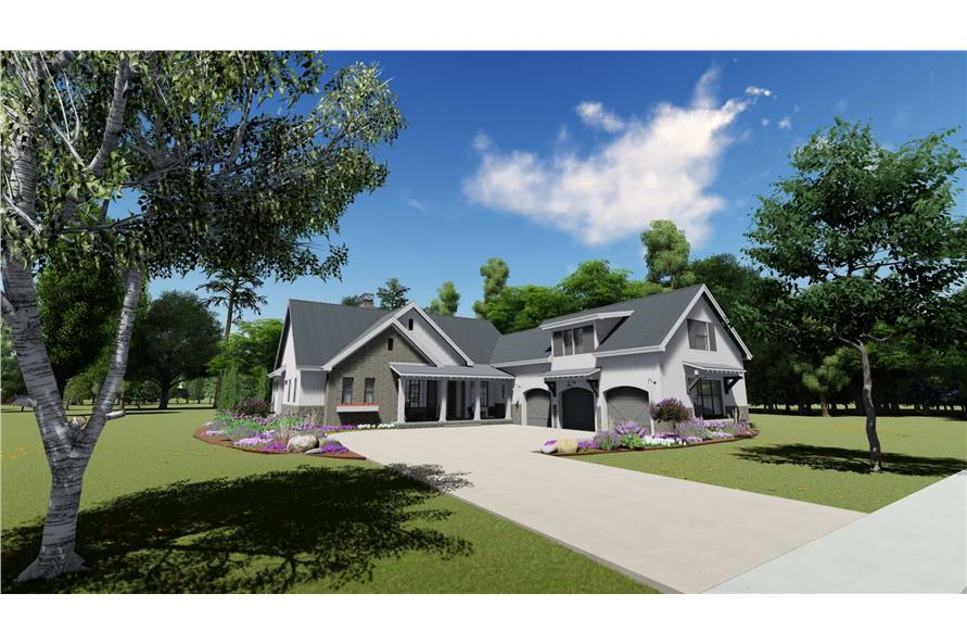 Home Exterior Photograph of this 3-Bedroom,2551 Sq Ft Plan -2551
