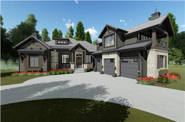 4-Bedroom, 2998 Sq Ft Farmhouse House - Plan #194-1033 - Front Exterior