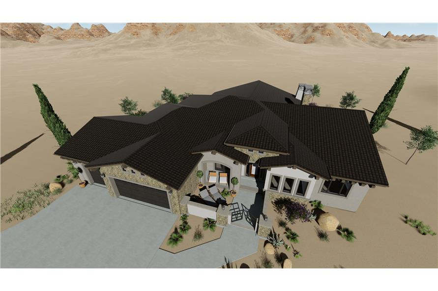 Home Exterior Photograph of this 3-Bedroom,2982 Sq Ft Plan -2982
