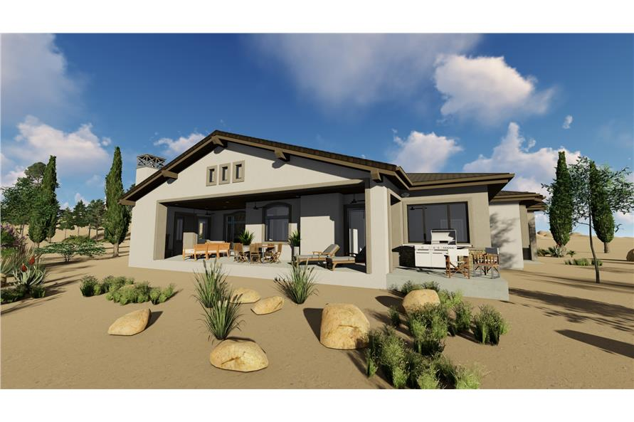 Patio of this 3-Bedroom,2982 Sq Ft Plan -2982
