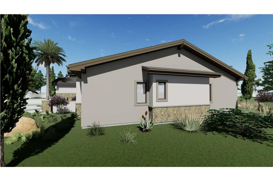Side View of this 3-Bedroom,3546 Sq Ft Plan -3546