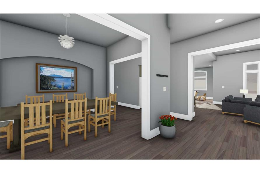 Dining Room of this 3-Bedroom,3546 Sq Ft Plan -3546
