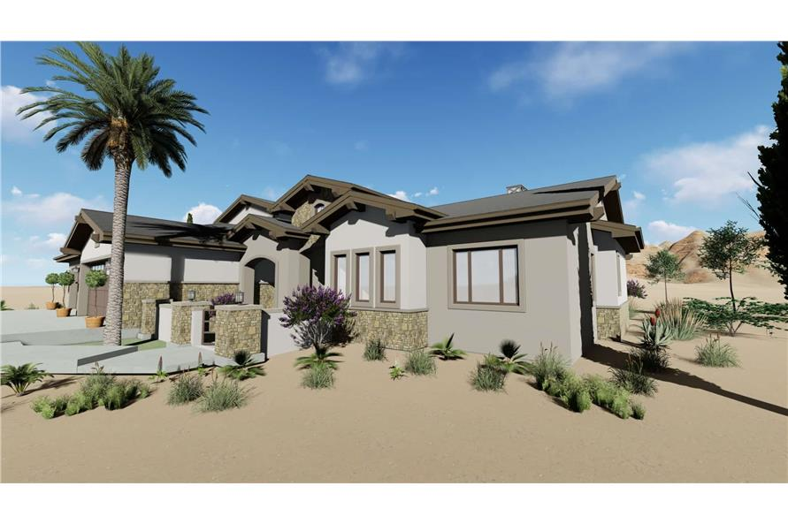 Home Exterior Photograph of this 3-Bedroom,3546 Sq Ft Plan -3546