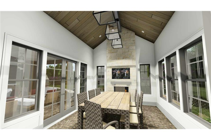 Patio of this 2-Bedroom,3433 Sq Ft Plan -3433