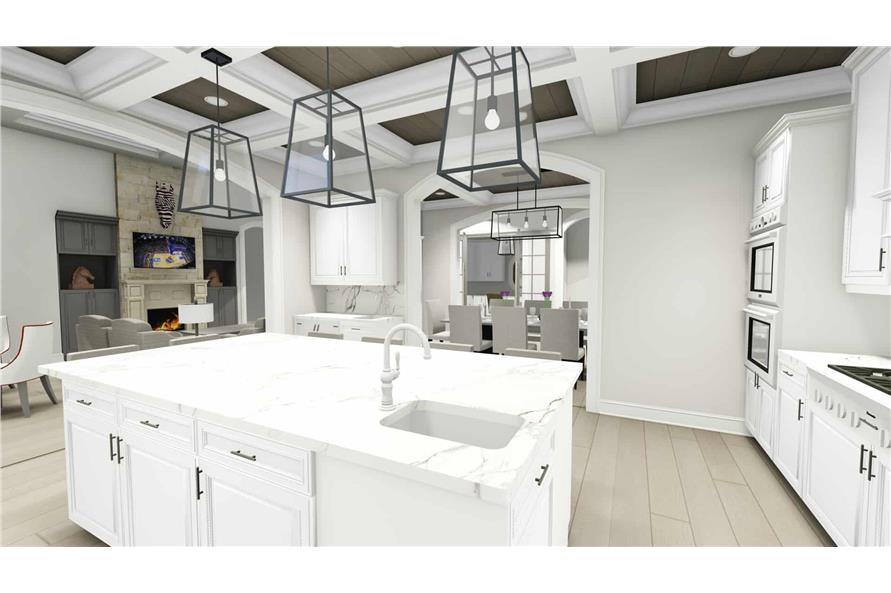 Kitchen of this 2-Bedroom,3433 Sq Ft Plan -3433