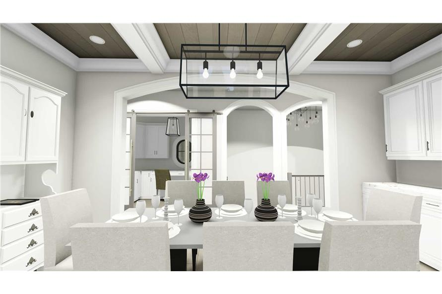 Dining Room of this 2-Bedroom,3433 Sq Ft Plan -3433