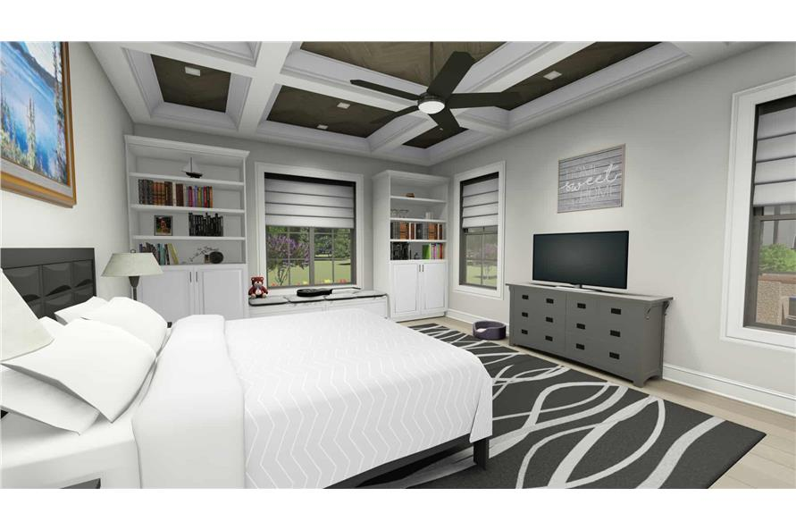 Master Bedroom of this 2-Bedroom,3433 Sq Ft Plan -3433