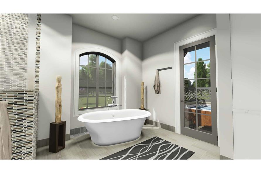 Master Bathroom of this 2-Bedroom,3433 Sq Ft Plan -3433