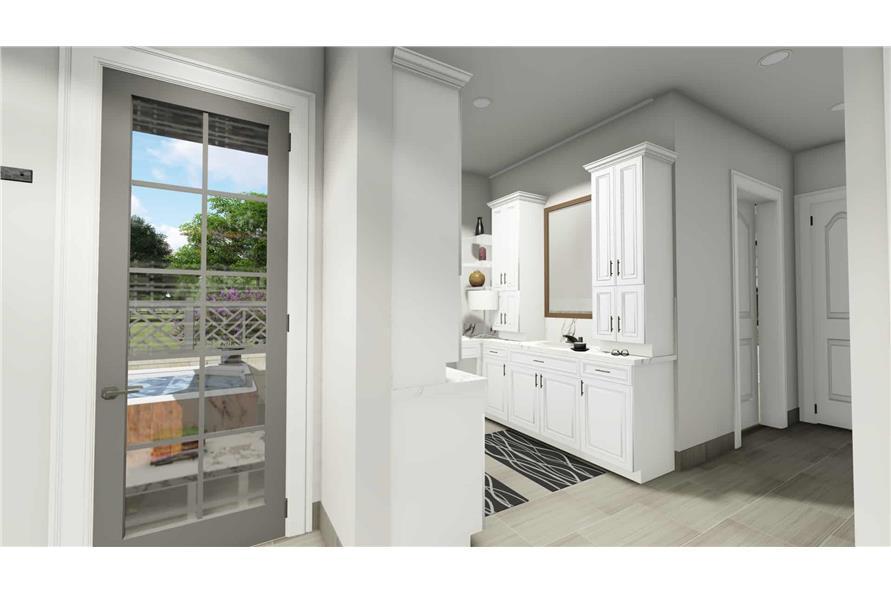 Home Plan Rendering of this 2-Bedroom,3433 Sq Ft Plan -3433