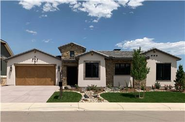 3-Bedroom, 2770 Sq Ft Southwestern House - Plan #194-1046 - Front Exterior