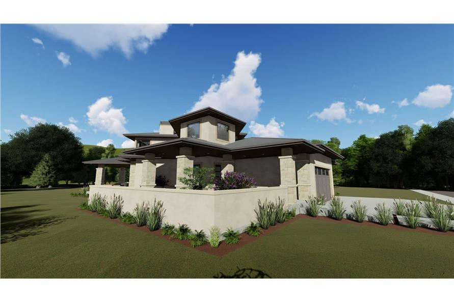 Side View of this 3-Bedroom,3125 Sq Ft Plan -3125