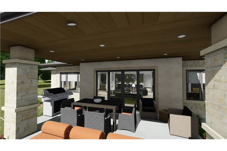 Patio of this 3-Bedroom,3125 Sq Ft Plan -3125