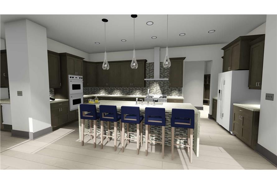 Kitchen of this 3-Bedroom,3125 Sq Ft Plan -3125
