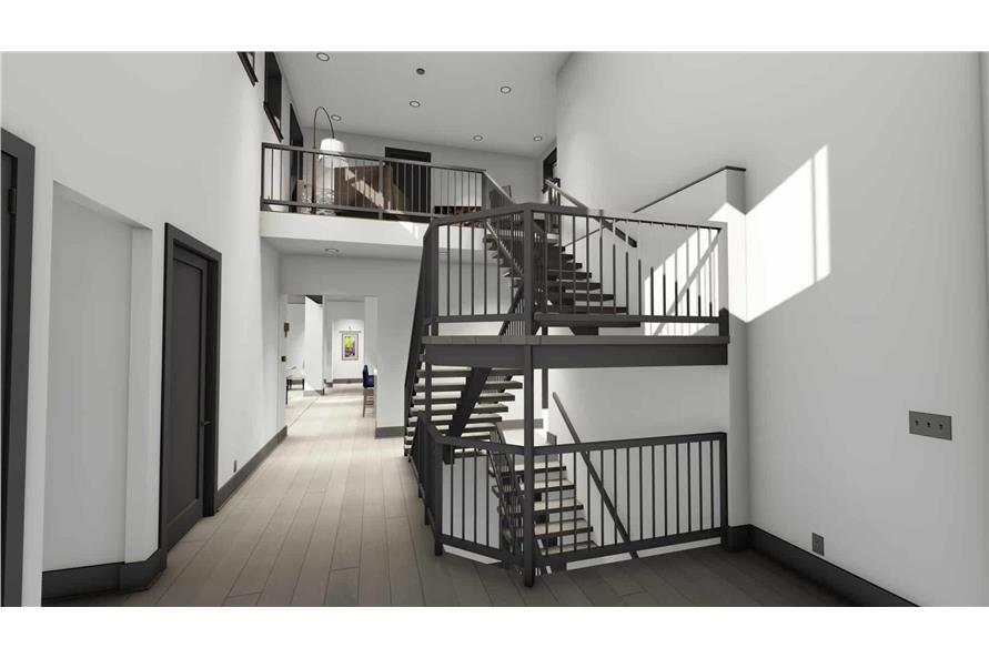 Entry Hall: Staircase of this 3-Bedroom,3125 Sq Ft Plan -3125