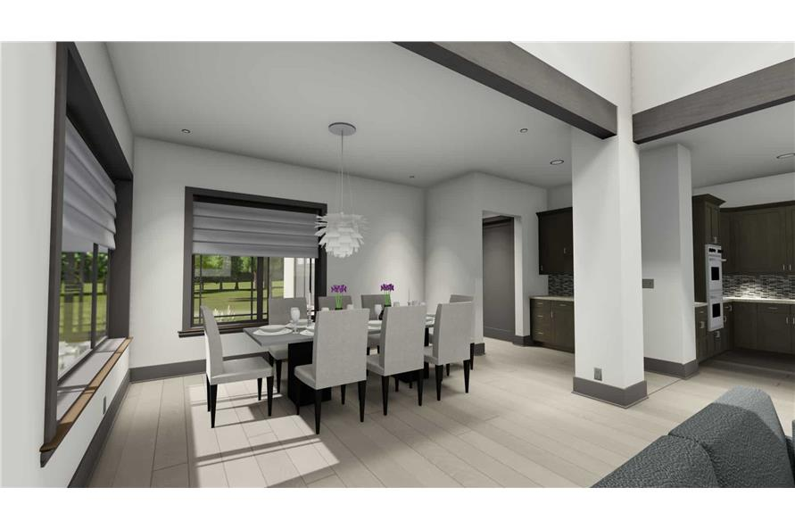Dining Room of this 3-Bedroom,3125 Sq Ft Plan -3125