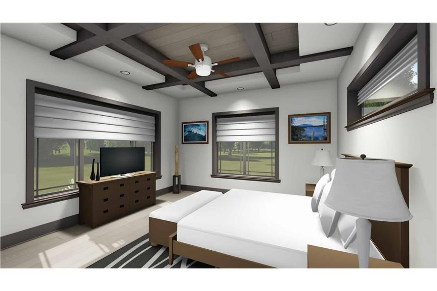 Master Bedroom of this 3-Bedroom,3125 Sq Ft Plan -3125