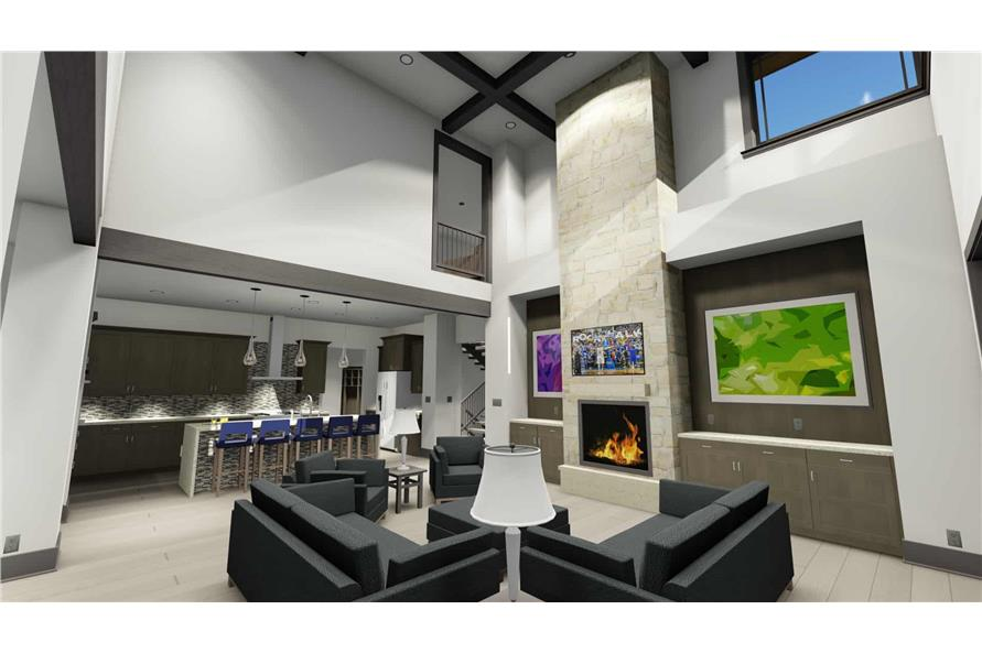 Great Room of this 3-Bedroom,3125 Sq Ft Plan -3125