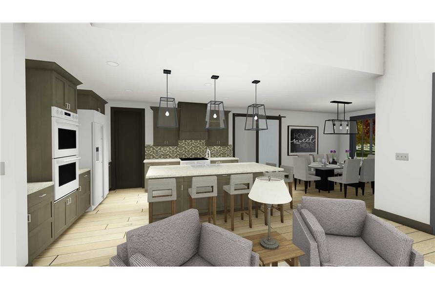 Great Room of this 5-Bedroom,3117 Sq Ft Plan -3117