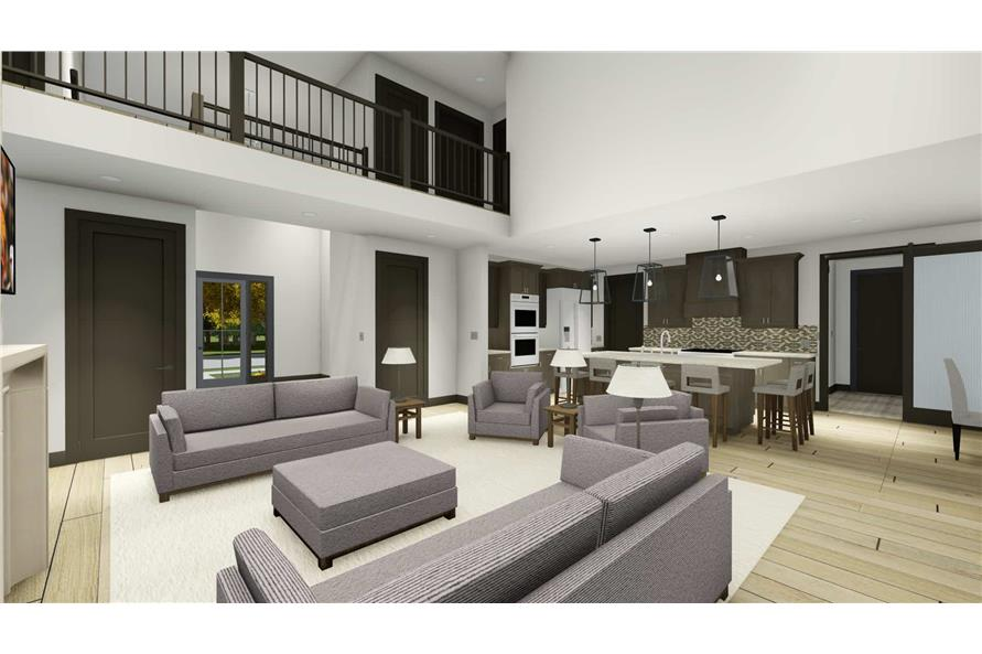Dining Room of this 5-Bedroom,3117 Sq Ft Plan -3117