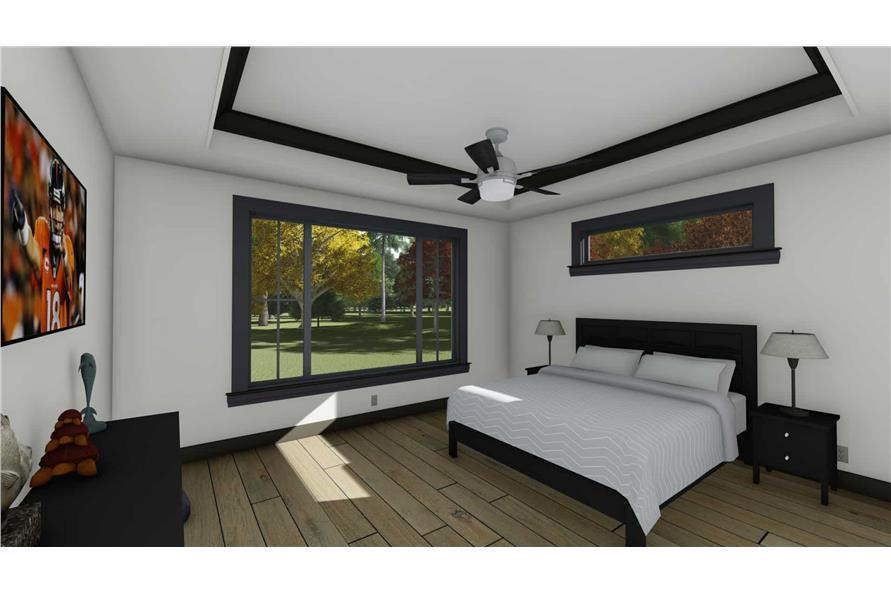 Master Bedroom of this 5-Bedroom,3117 Sq Ft Plan -3117