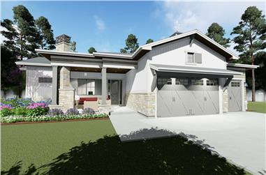 2–6-Bedroom, 2470 Sq Ft Country Home - Plan #194-1052 - Main Exterior