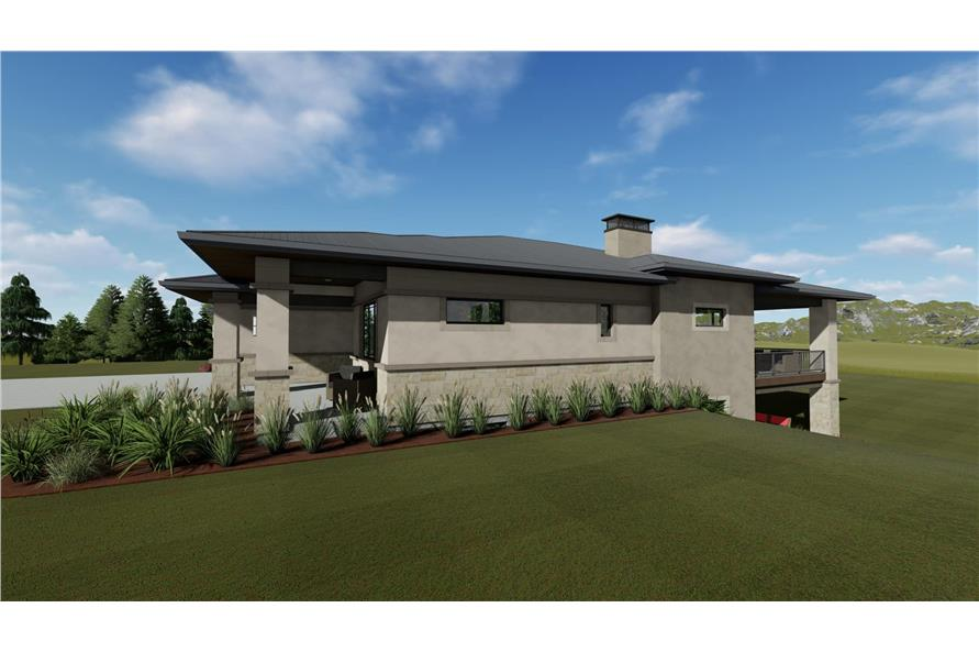 Side View of this 3-Bedroom,2539 Sq Ft Plan -2539