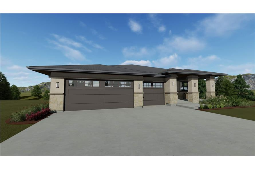 Garage of this 3-Bedroom,2539 Sq Ft Plan -2539
