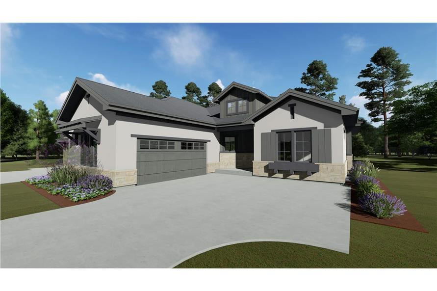 Garage of this 4-Bedroom,3692 Sq Ft Plan -3692