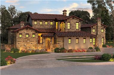 Main Image for Southwestern home plan #195-1001